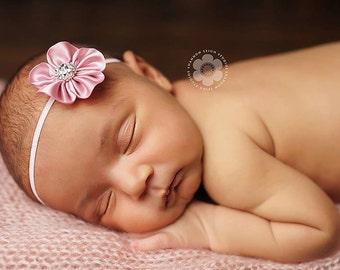 Simple Newborn Headband Dainty Headband Baby Headband Infant Headband Toddler Headband Simple Newborn Photo Prop Baby Photo Prop Baby Bows