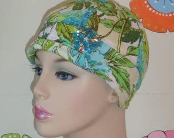 Womens Chemo Hat  Cancer Cap for Hair Loss Made in the USA.( For Size Guide, see 'Item Details' below photos) MEDIUM