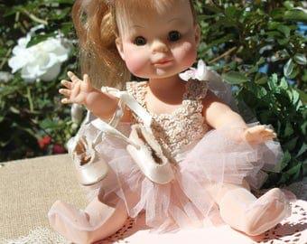 """Madame Alexander Muffin Doll 12"""" blonde Ballerina doll"""