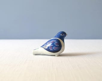 Danish Modern Royal Copenhagen - Aluminia Fajance Bird Whistle by Berte Jessen