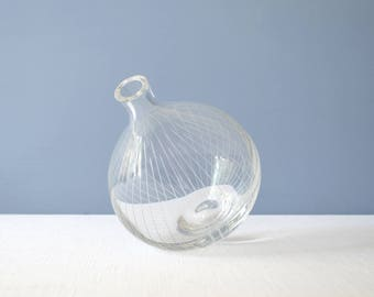 Vintage Glass Vase in the Style of Harrison McIntosh Limited Edition for Mikasa