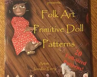 Column House Primitives presents: Folk Art Primitive Doll Patterns
