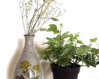 Takahashi Vase - Stoneware vase - Boho style vase