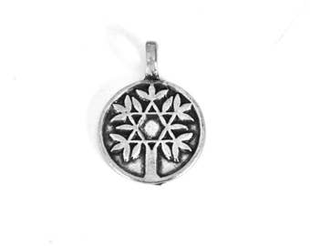 Pewter Tree of Life Pendant -- Tree Jewelry