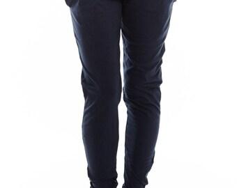 NEW! Womens Yoga Pants - Drop Crotch Pants - 'Mudra' - Jersey Cotton Yoga Pants Yoga Clothes