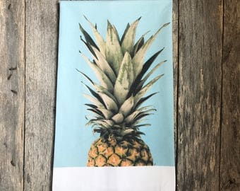 Pineapple Top Tea Towel
