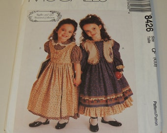 Ruffles and Lace TGreasured Collection McCalls 8426 4,5,6