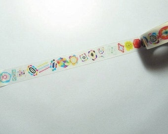 mt  Masking Tape / Limited Edition doop  / gemstone / 15mmx10m