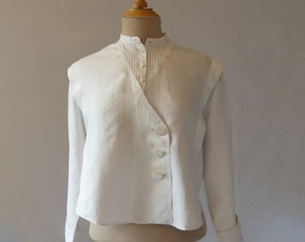 Antique, Edwardian Linen Blouse
