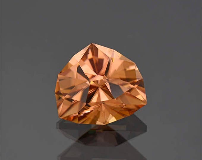 UPRISING SALE! Superb Precision Cut Peach Zircon Gemstone from Tanzania 6.66 cts.