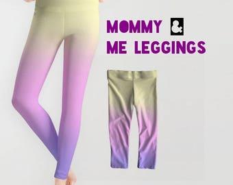 Mommy and Me Leggings, Star Wars Leggings, Padme Lake Gown Leggings, Queen Amidala Leggings, Senator Amidala Leggings