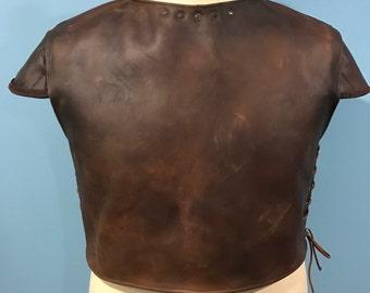 Leather Mandalorian Flak Vest