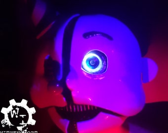Ennard from Five Nights at Freddy's Inspired Mask. Screen accurate, full lining, hidden switch & LEDs. Very Comfortable, Custom Sizes
