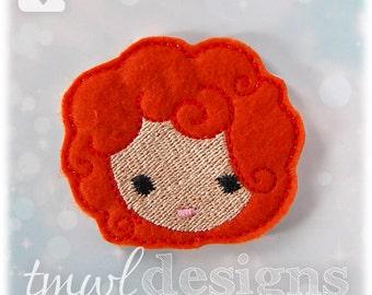 "Orphan Emoji Feltie Digital Design File - 1.75"""