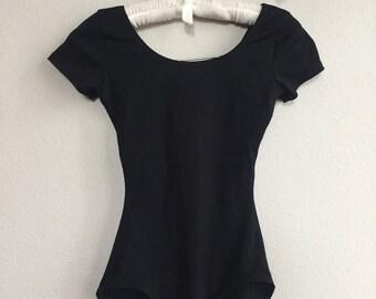 black spandex onesie
