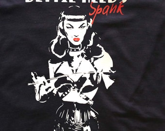 Violet Chachki- Bettie Page- t-shirt - Fetish Pinup - Rupaul Drag Race