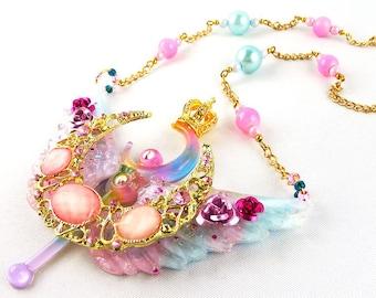 Necklace, Kawaii, Resin, Sailor Moon