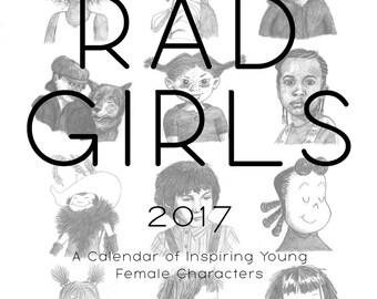 Rad Girls 2017 Wall Calendar