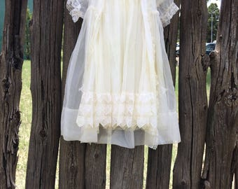 Antique Baby Christening Outfit