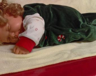 Santa's Little Helper fell asleep on the job! Berenguer Reborn