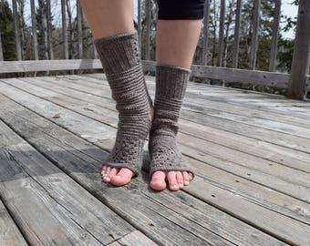 60# Tadāsana yoga crochet socks