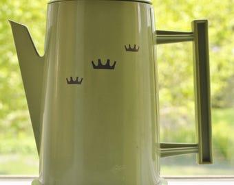 Vintage Regal Poly Perk 4-8 Cup Electric Percolator Coffee Pot