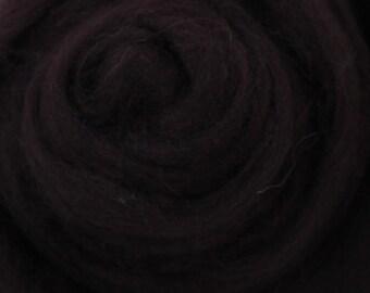 MOCHA BROWN - Merino Wool Roving 1/4oz,  1/2oz or 1oz