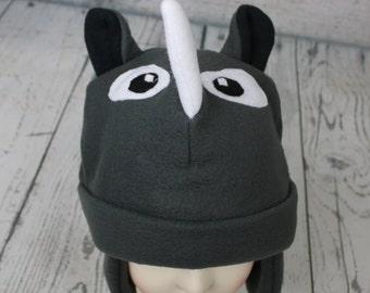 Rhino Fleece Hat (Baby, Child, and Youth Sizes)