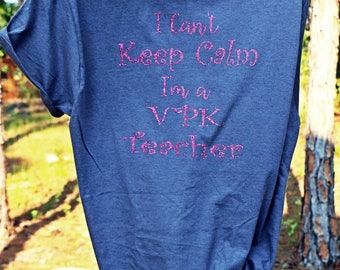 VPK Teacher Shirt Preschool Teacher Shirt