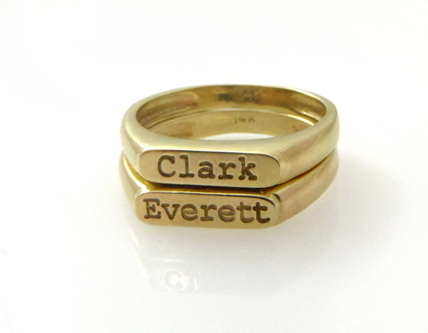 two name ring gold ring personalized ring word ring name. Black Bedroom Furniture Sets. Home Design Ideas