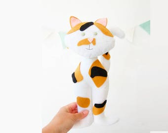 Felted cat toy - Cat-stuffed toy - Stuffed toy kitten - Cat-stuffed toy for cats - Stuffed toy for cats - Funny cat toy - Cat lover gift