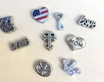 Floating Locket Charms - Living Locket Charms - Free Shipping