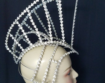 Wire Trojan  Headdress  MADE IN USA