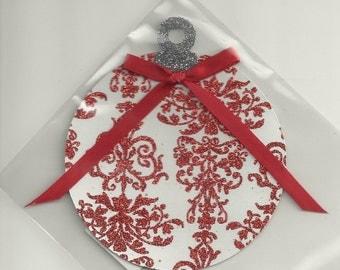 Christmas Ornament Die Cut Shape