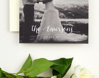 Wedding Thank You Cards Photo - Wedding Thank You Notes Photo - Photo Wedding Thank You Cards - Printed Wedding Thank You Cards - Thank Yous