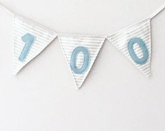 Fabric Bunting Banner / Custom Fabric Banner / Fabric Name Banner / Baby Name Banner / Bunting Flag / Fabric Bunting Flag / Baby Garland
