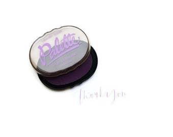 Lavender Stamp Pad, Violet Stamp Pad, Purple Stamp Pad,  Lavender Ink Pad, Ink, Rubber Stamp Pad, Pallette Stamp Pad, Acid Free Stamp Pad