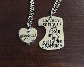 grandma gift, gifts for grandma, grandma, grandmas, grandma necklace, grandmother gift, grandmother necklace, grandmother, silver necklace