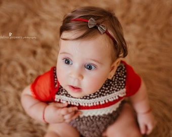 Sitter Romper, Baby Girl Romper Set, Romper Baby Girl, Sitter Girl Romper, Baby Girl Romper, Baby Headband, Baby Photo Outfit, Christmas