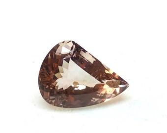12.60 Carat 20x14x9 mm Ametrine Gemstone Faceted Fancy Shape Stone