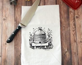 Bee Hive Tea Towel