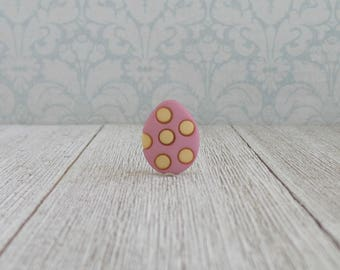 Easter Eggs - Decorated Egg - Spotted Eggs - Holiday - Lapel Pin