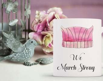 womens march // women's march // nasty woman // march on washington // feminist // womens march mug // feminist // pussy hat // mug
