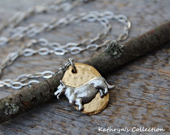 Corgi Necklace, Corgi Jewelry, Pembroke Corgi, Cardigan Corgi