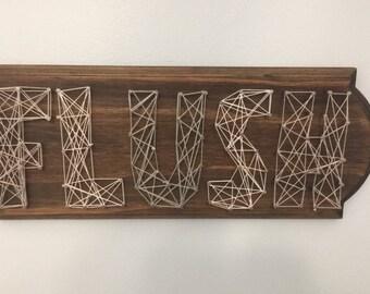 Custom String Art Word Signs