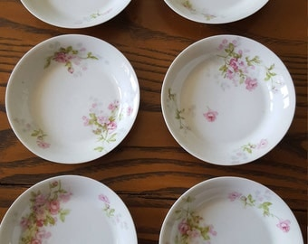 LDBC limoges france berry bowls, set of six.