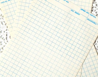 Vintage graph paper – Etsy