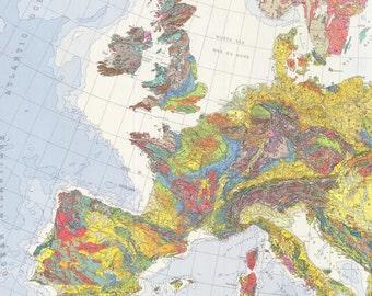 Geologic Map Of Europe