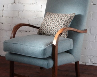 SOLD***** Mid Century Bentwood armchair