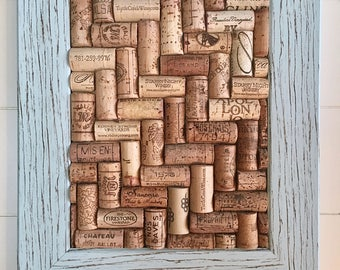 Wine Cork Wall Art wine cork art | etsy